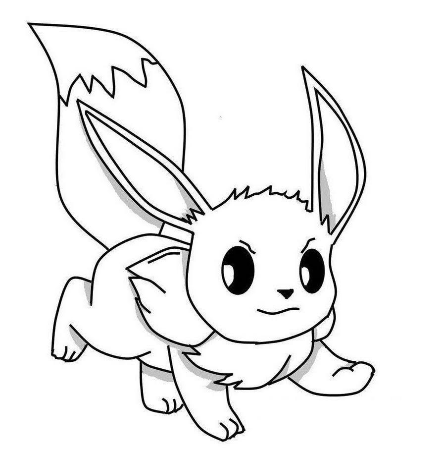 pokemon coloring pages eevee pokemon coloring pages eevee evolutions coloring home pokemon coloring pages eevee