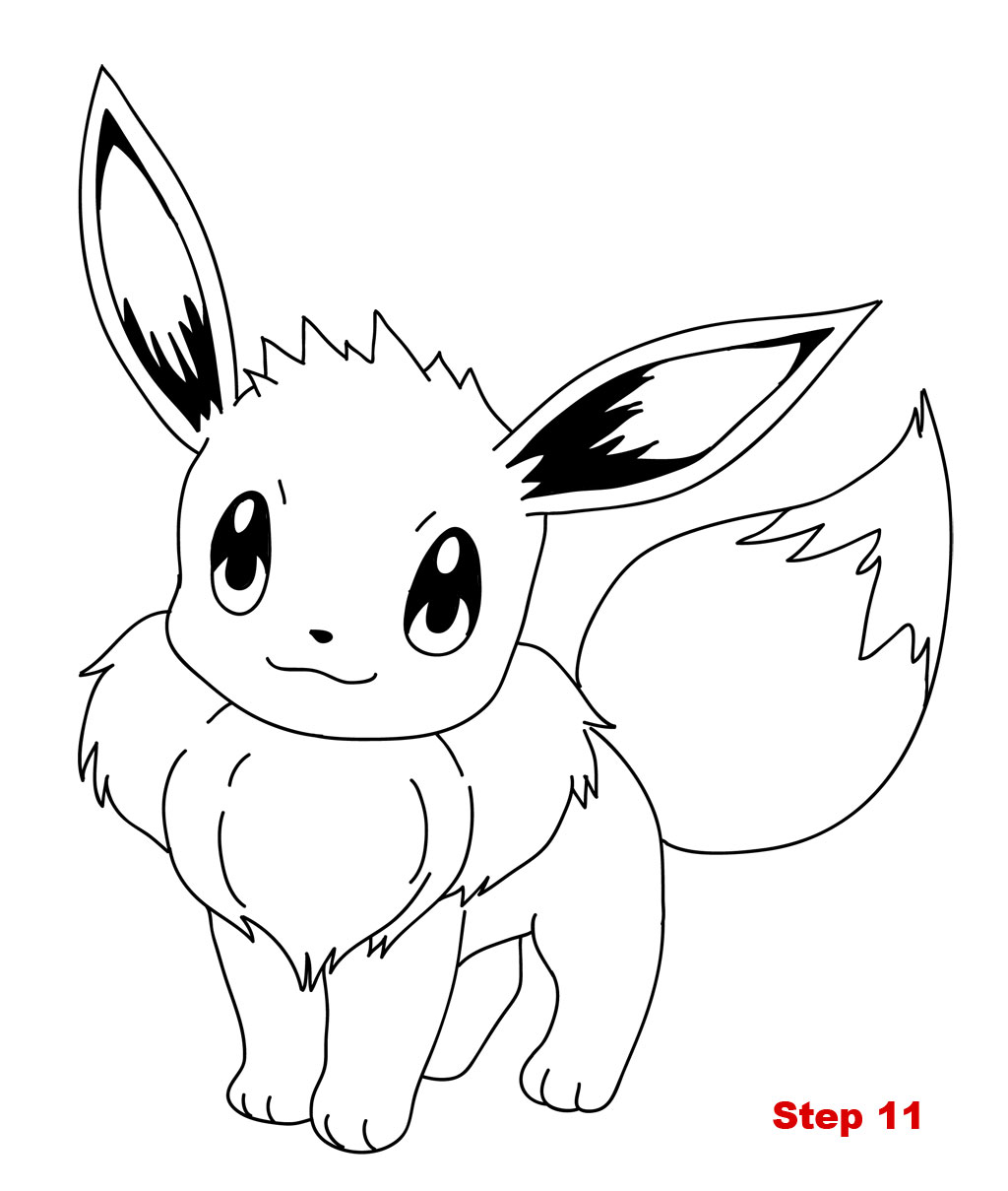 pokemon coloring pages eevee pokemon pictures of eevee coloring home pages pokemon eevee coloring