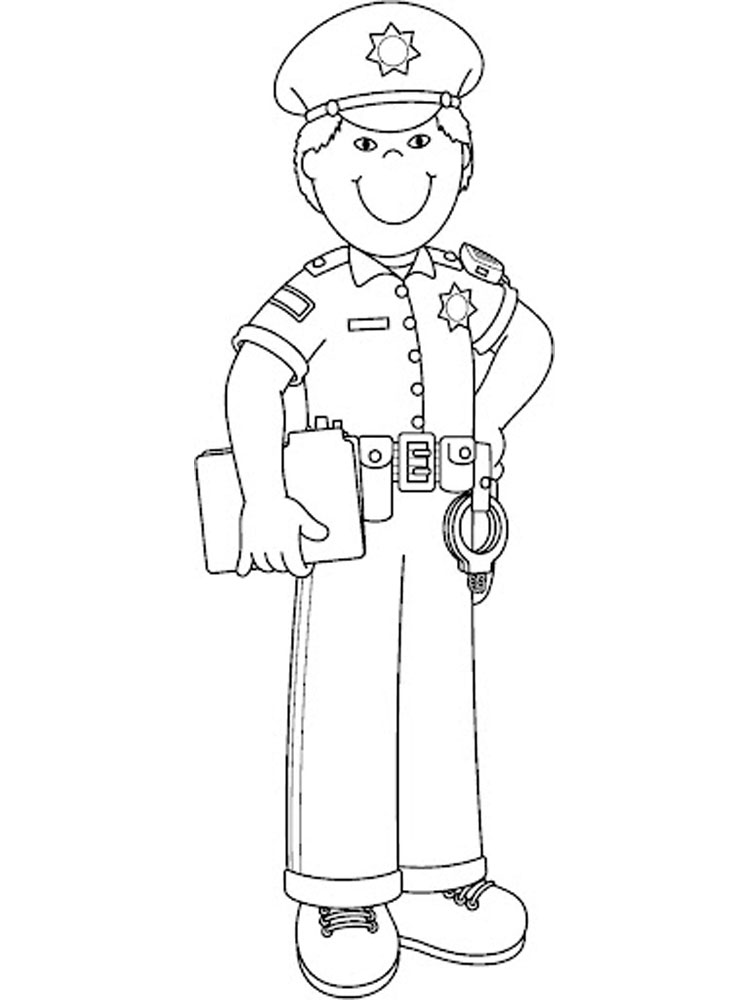 police coloring pages to print police motorcycle coloring pages at getcoloringscom police pages coloring to print
