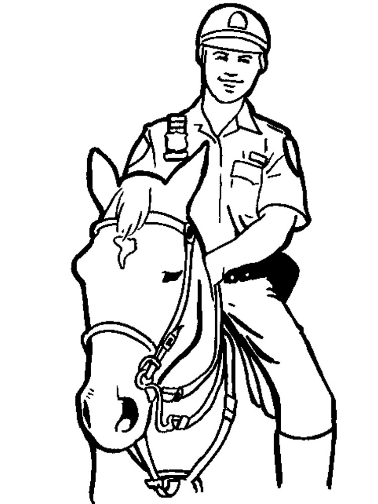 police coloring pages to print police officer coloring pages free printable police police coloring to pages print