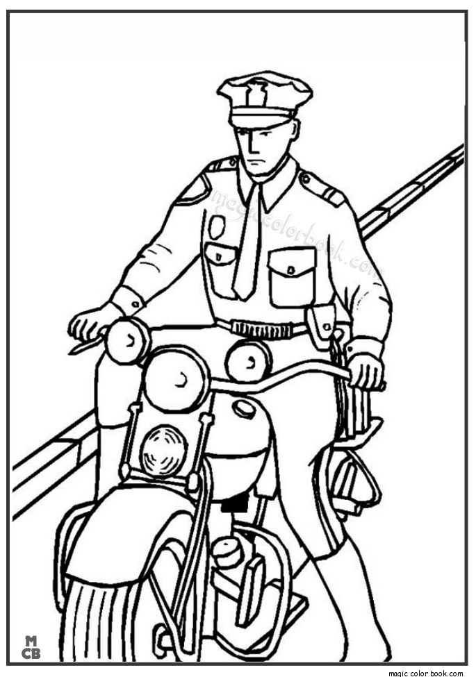 police coloring pages to print police officer coloring pages print coloring to pages police