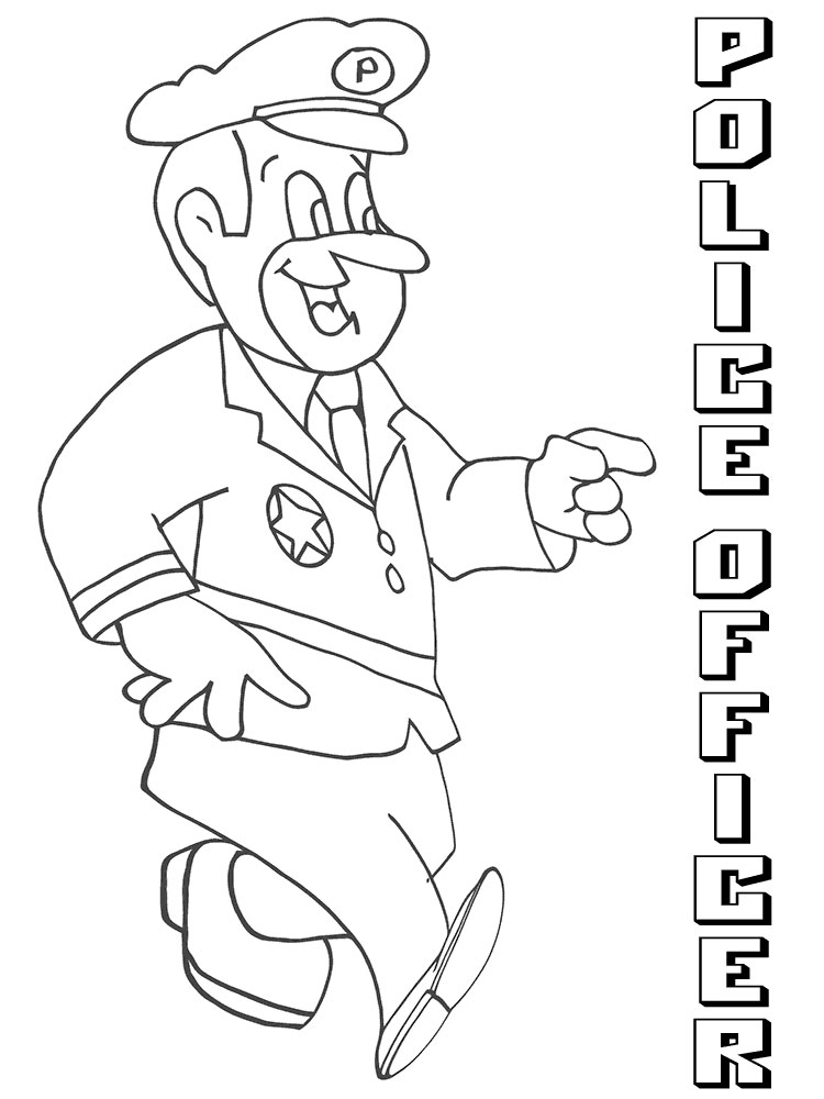 police coloring pages to print police officer coloring pages to coloring pages police print