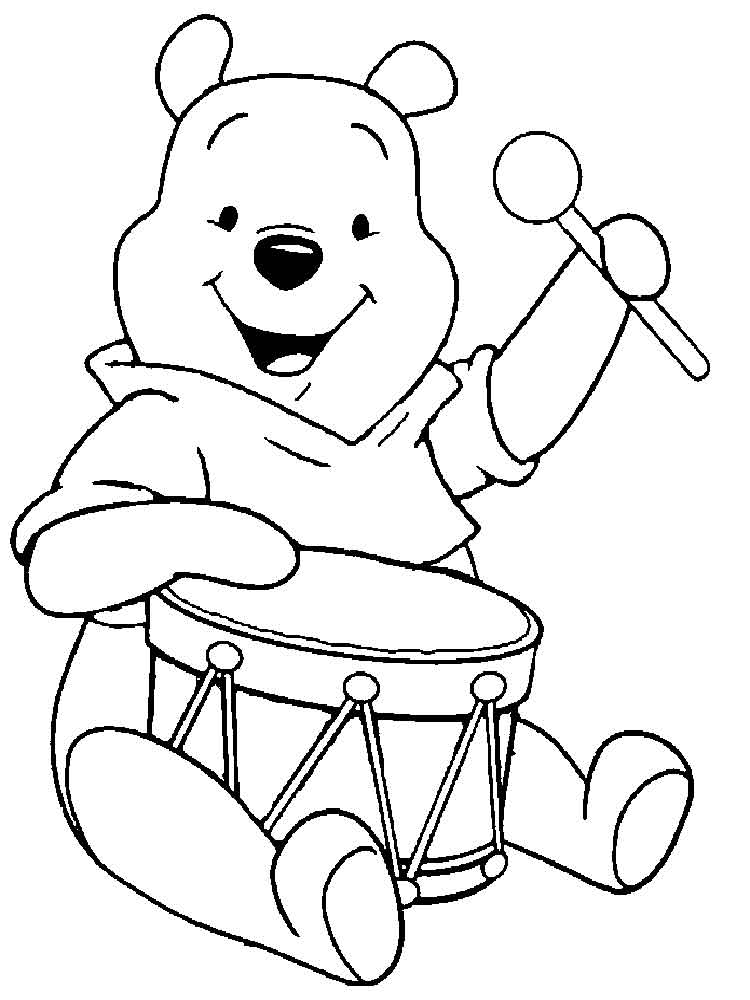 pooh bear coloring pages cute coloring pages best coloring pages for kids bear coloring pooh pages