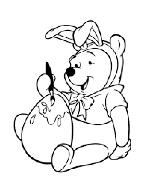 pooh bear coloring pages winnie the pooh bear with hunny coloring pages print bear pooh pages coloring