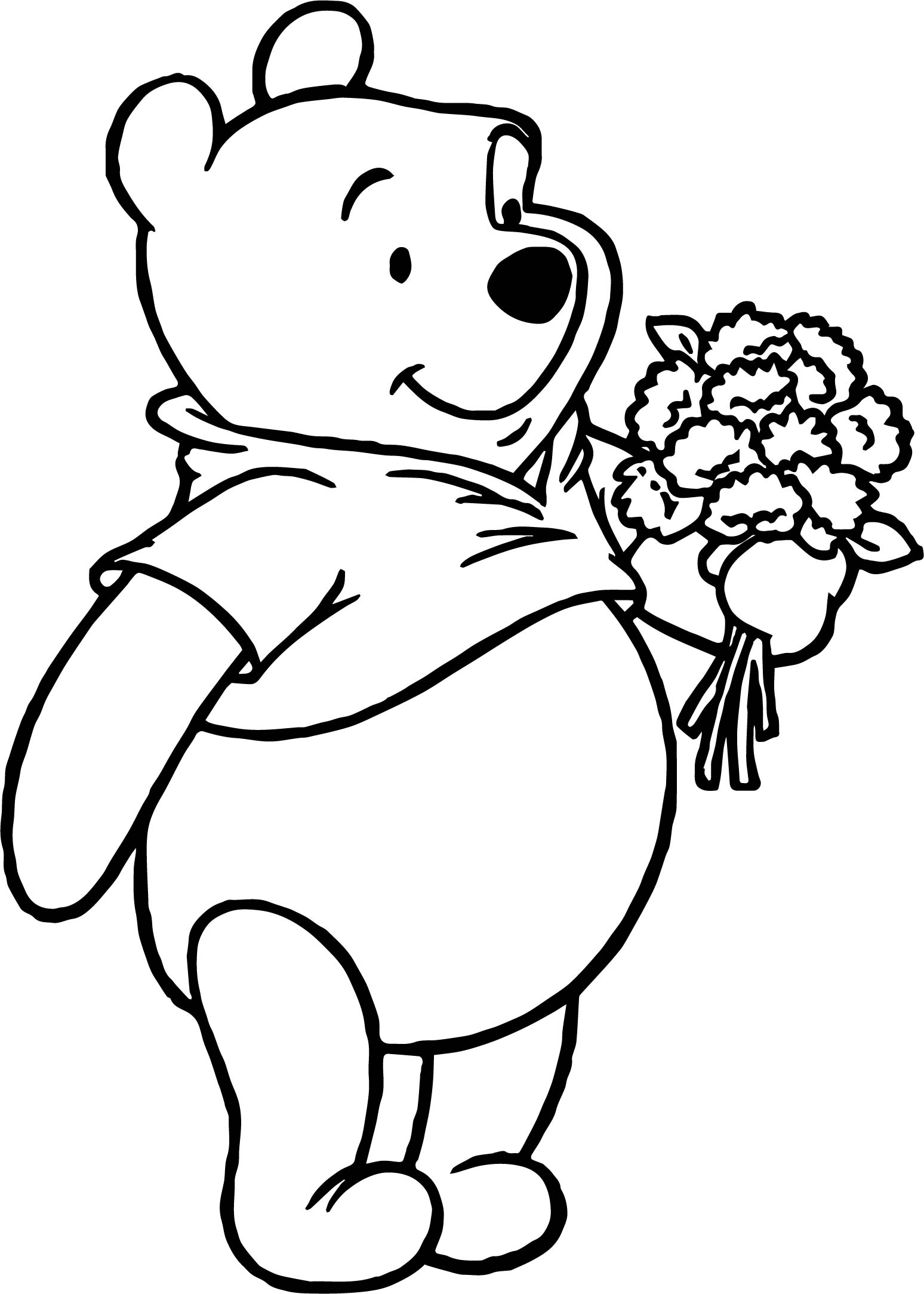 pooh bear coloring pages winnie the pooh coloring pages learn to coloring pooh bear pages coloring