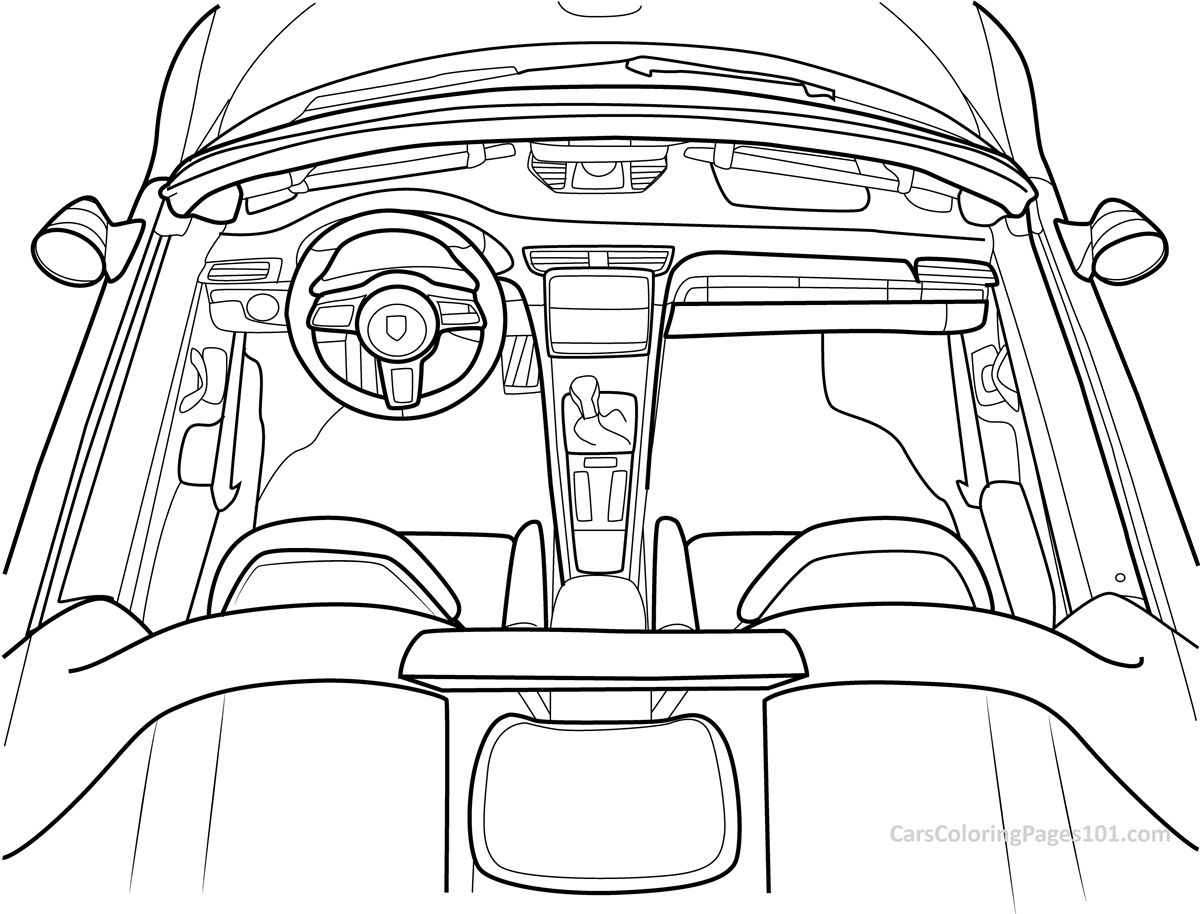 porsche 911 coloring pages 911 drawing at getdrawings free download 911 coloring pages porsche