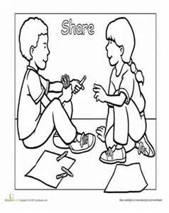 preschool manners coloring pages manners matter behavior game coloring puzzle pages and pages preschool manners coloring