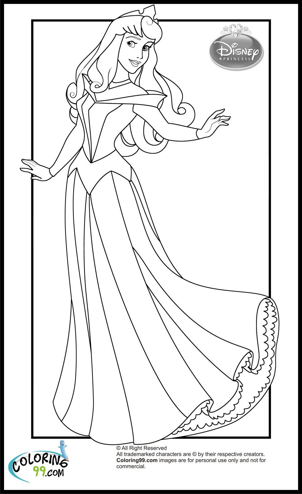princess aurora pictures to color beauty princess aurora coloring pages gtgt disney coloring pages to pictures aurora color princess