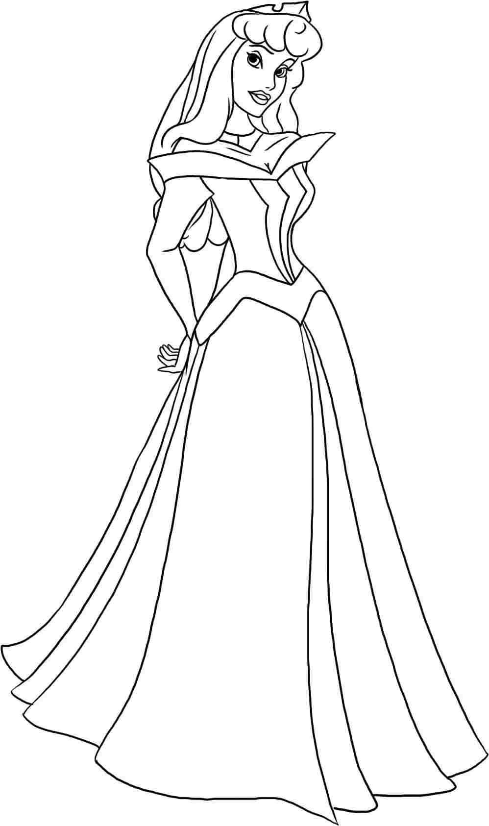princess aurora pictures to color coloring pages princess aurora free printable coloring pages to pictures color princess aurora