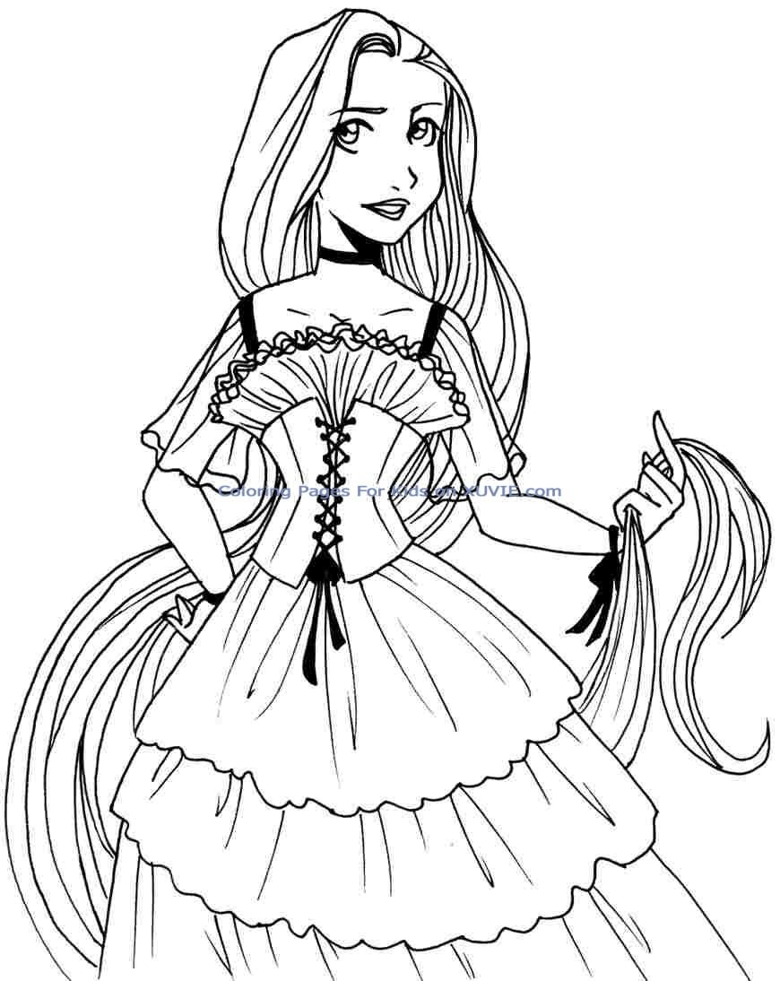 princess images for coloring free printable belle coloring pages for kids coloring images princess for