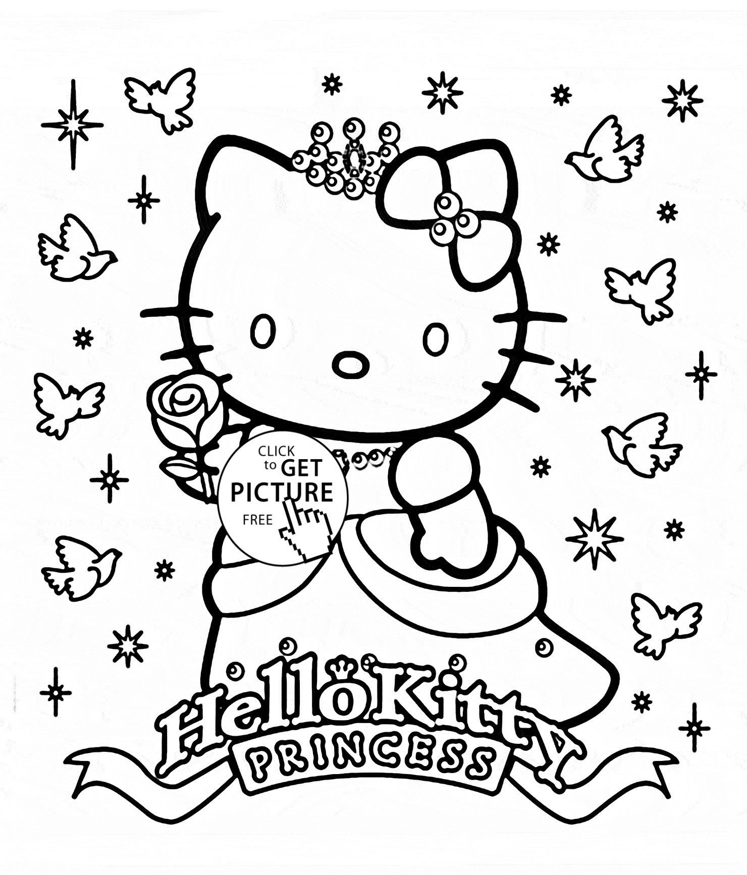 princess kitten coloring pages coloring pages hello kitty princess hello kitty coloring princess kitten pages