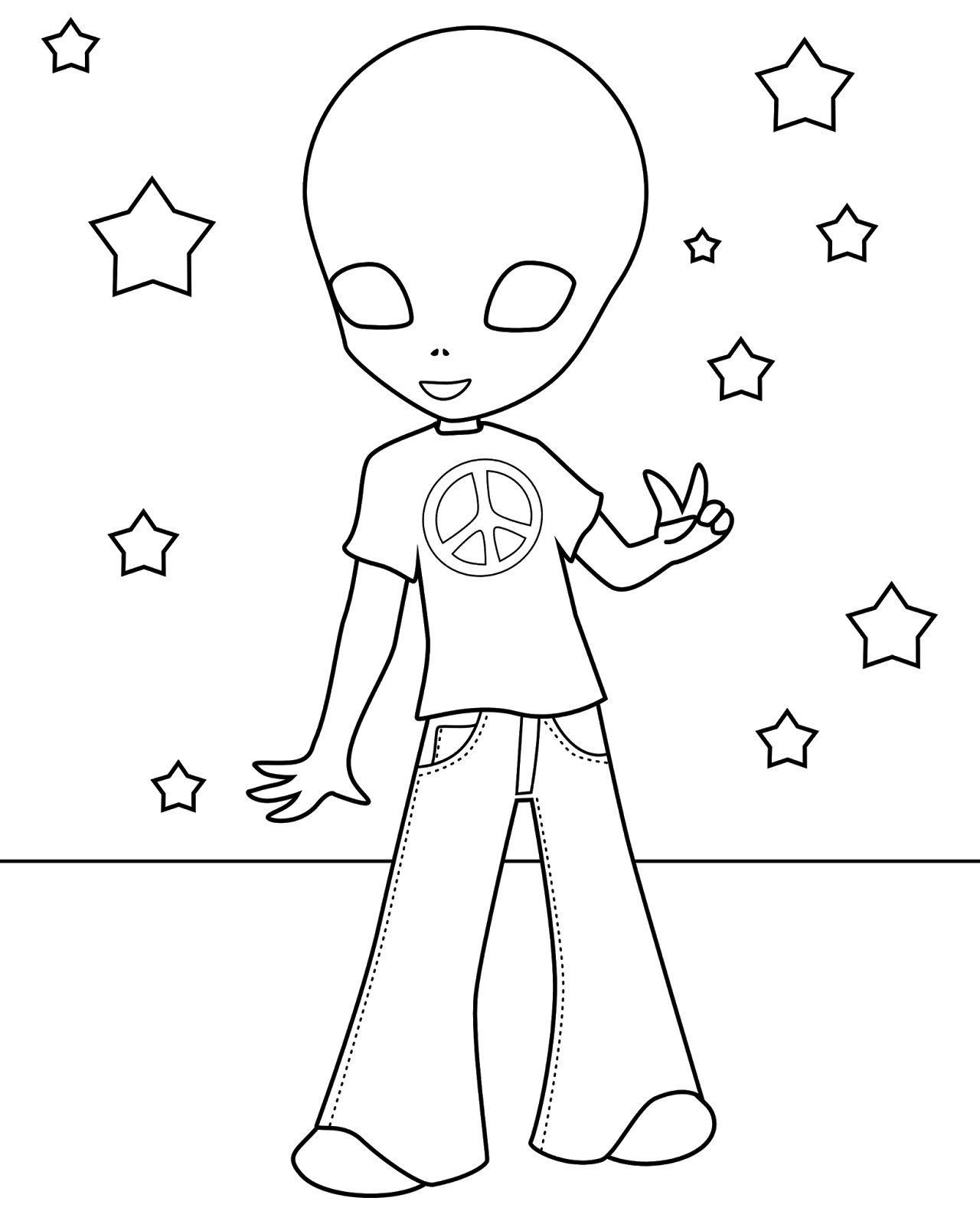 printable alien pictures printable alien coloring pages for kids cool2bkids alien pictures printable