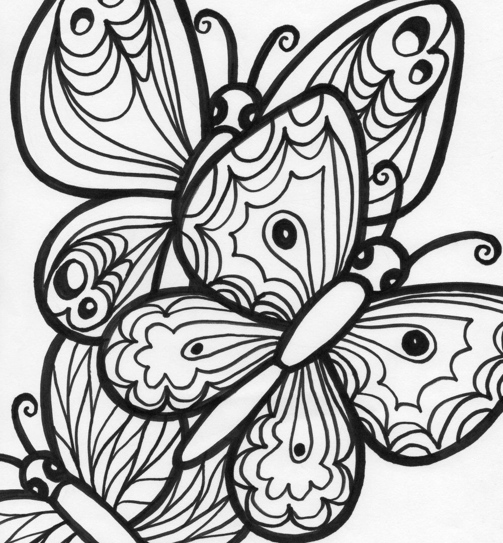 printable butterfly coloring sheets free printable butterfly coloring pages for kids printable butterfly coloring sheets 1 1