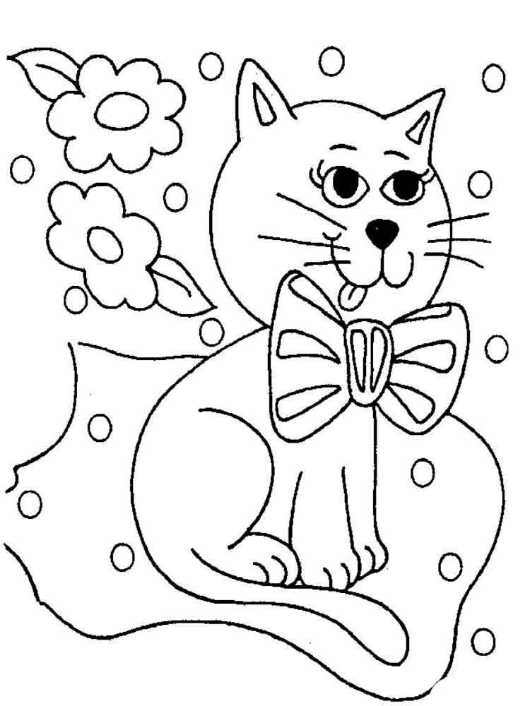 printable cat pictures to color free printable cat coloring pages for kids color to cat pictures printable