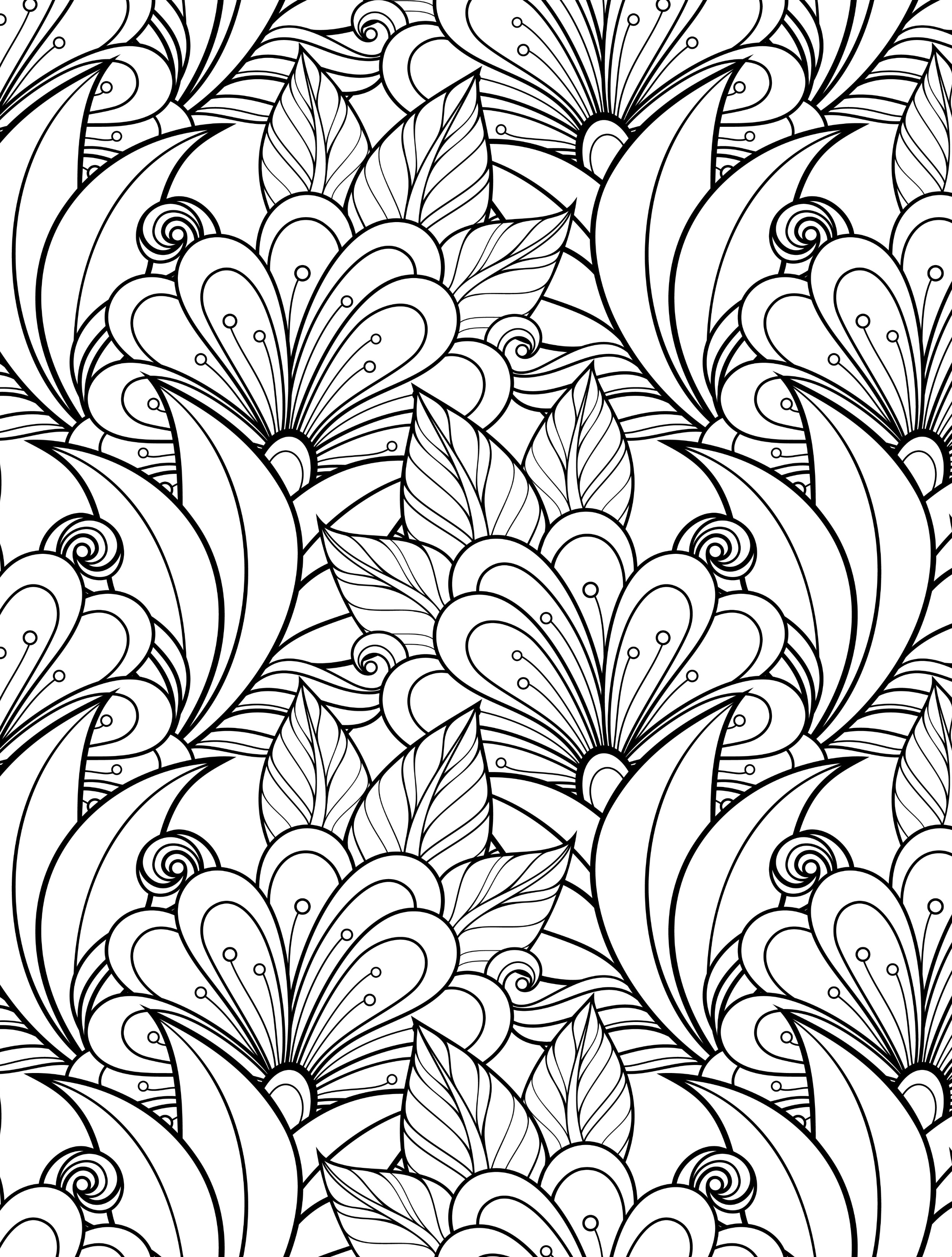 printable coloring pages for adults flowers 7 floral adult coloring pages the graphics fairy coloring printable pages for flowers adults