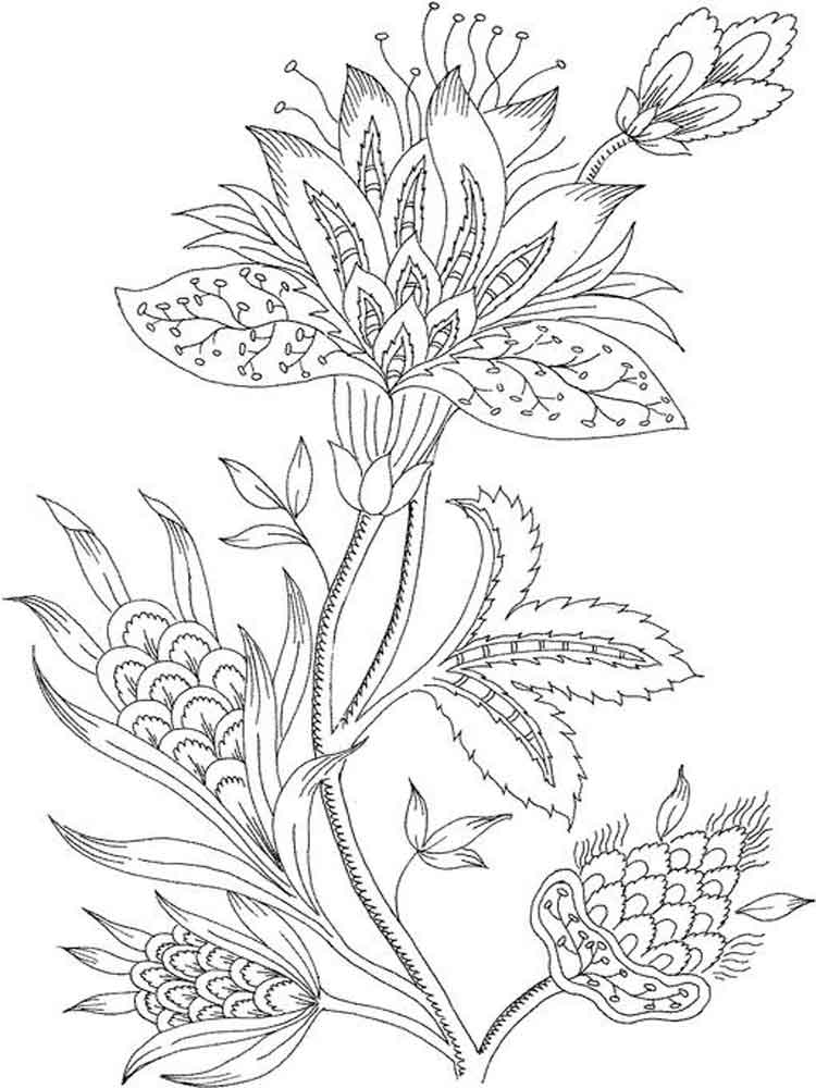 printable coloring pages for adults flowers rose flower coloring pages for grown up coloring pages flowers adults pages for printable coloring