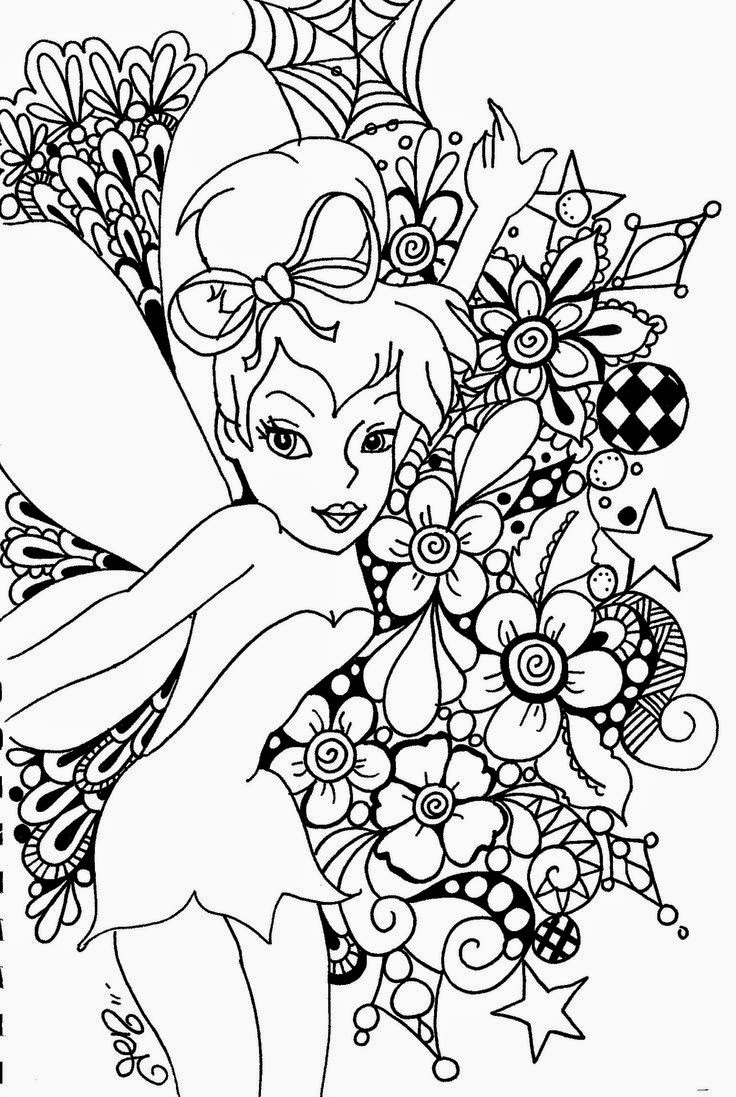 printable fairy coloring pages disney fairies coloring pages at getcoloringscom free printable pages coloring fairy