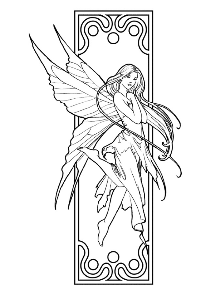 printable fairy coloring pages free printable fairy coloring pages for kids coloring pages printable fairy 1 1