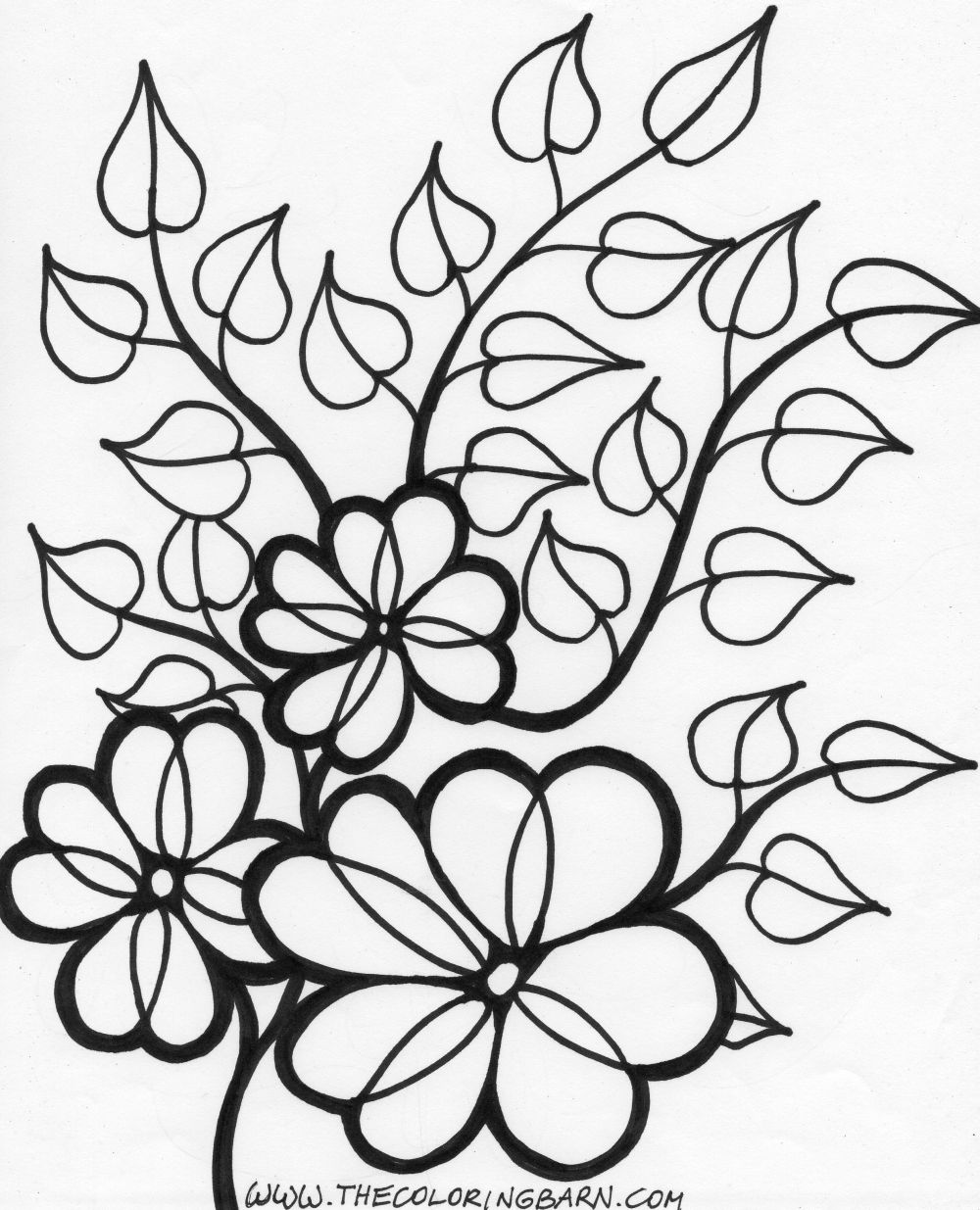 printable flower pictures beautiful printable flowers coloring pages pictures flower printable