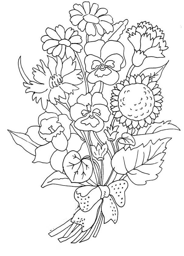 printable flower pictures free printable hibiscus coloring pages for kids flower pictures printable 1 1