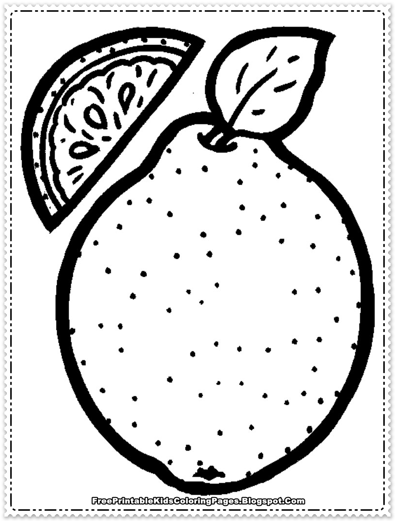 printable fruit coloring pages free printable fruit coloring pages for kids pages coloring printable fruit