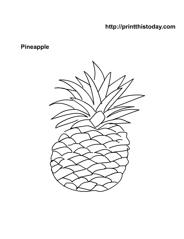 printable fruit coloring pages fruit coloring pages 2 coloring pages to print fruit printable pages coloring