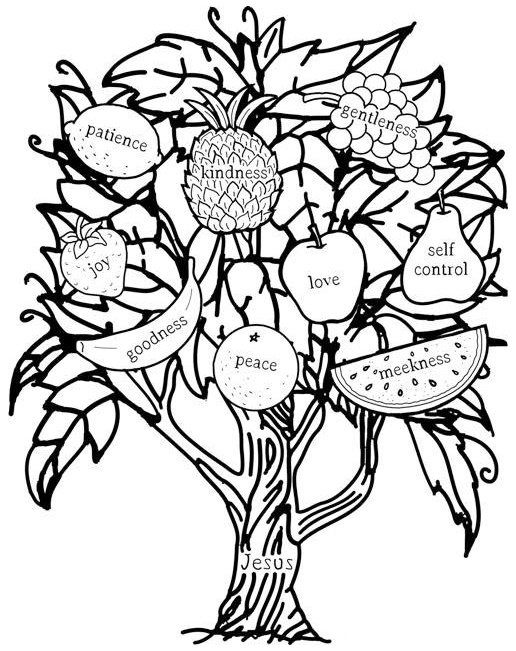 printable fruit coloring pages fruit salad coloring page at getcoloringscom free fruit printable coloring pages