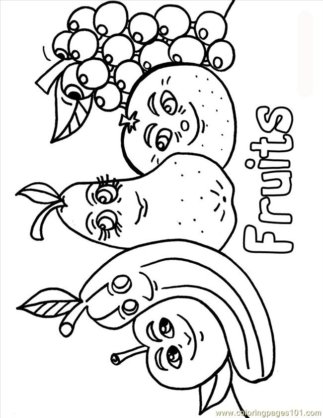 printable fruit coloring pages printable fruit coloring pages pages fruit printable coloring