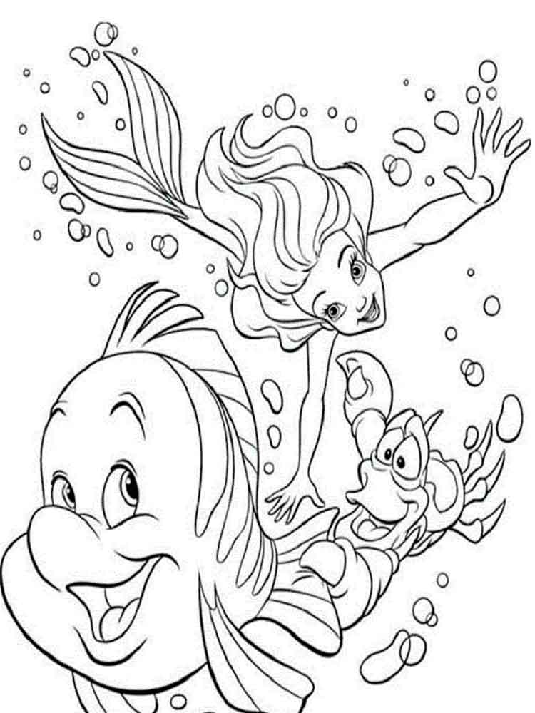 printable little mermaid coloring pages free printable little mermaid coloring pages for kids little coloring pages mermaid printable