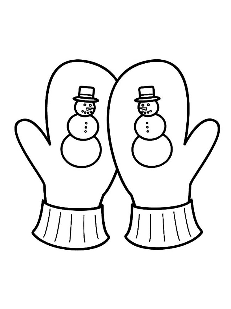 printable mitten coloring page mittens coloring pages free printable mittens coloring pages coloring printable mitten page