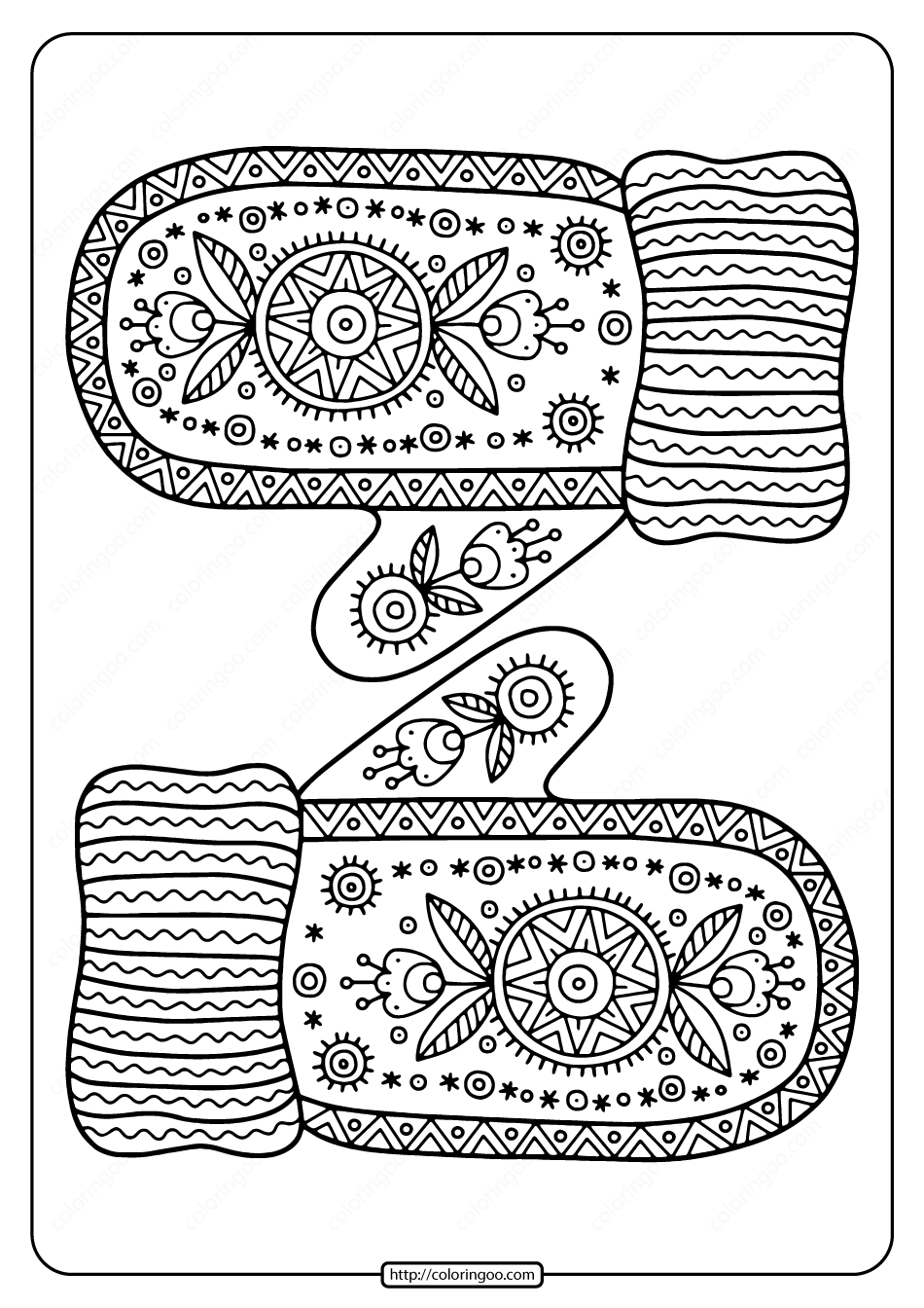 printable mitten coloring page mittens drawing at getdrawings free download mitten coloring page printable