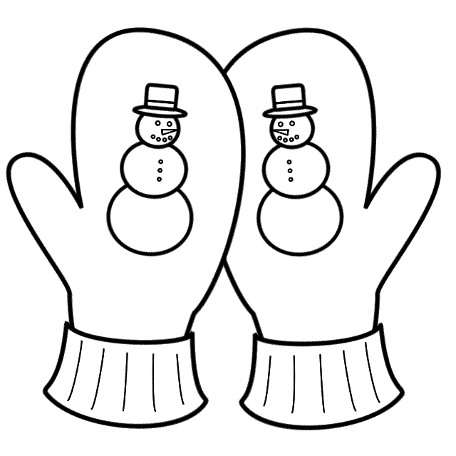 printable mitten coloring page printable mitten coloring page at getdrawings free download printable mitten coloring page