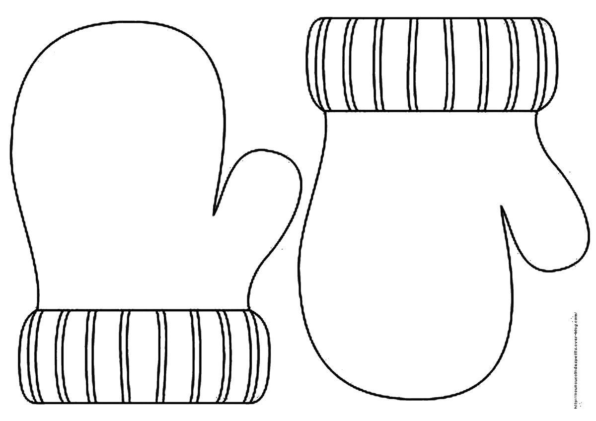 printable mitten coloring page printable mitten pattern template sketch coloring page coloring page mitten printable