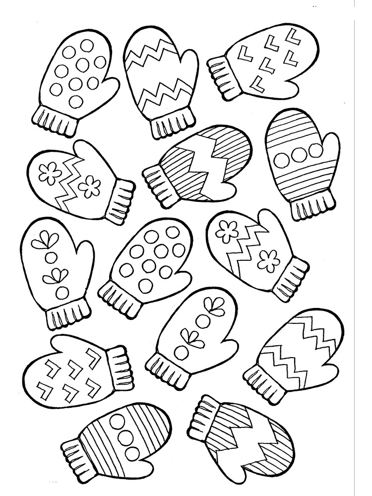 printable mitten coloring page printable mitten pattern template sketch coloring page page coloring mitten printable