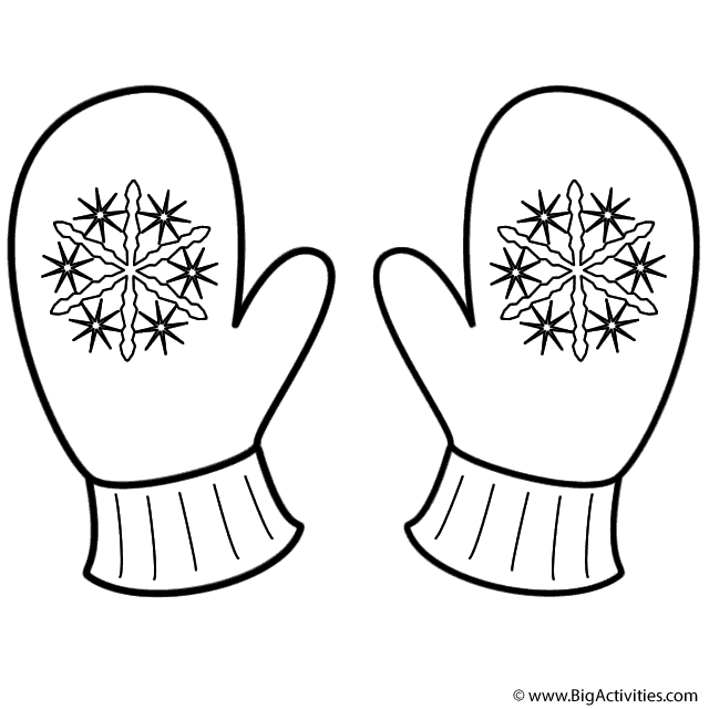printable mitten coloring page printable mitten pattern template sketch coloring page printable page coloring mitten