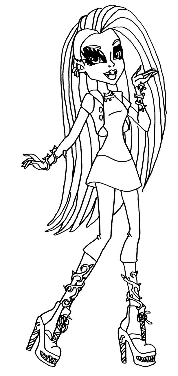 printable monster high printable monster high cleo de nile colouring pages for girls printable high monster