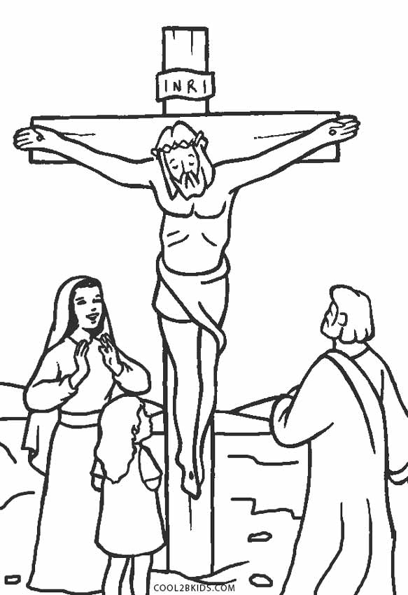 printable picture of jesus on the cross sunday school jesus bible coloring pages of jesus on the cross picture printable