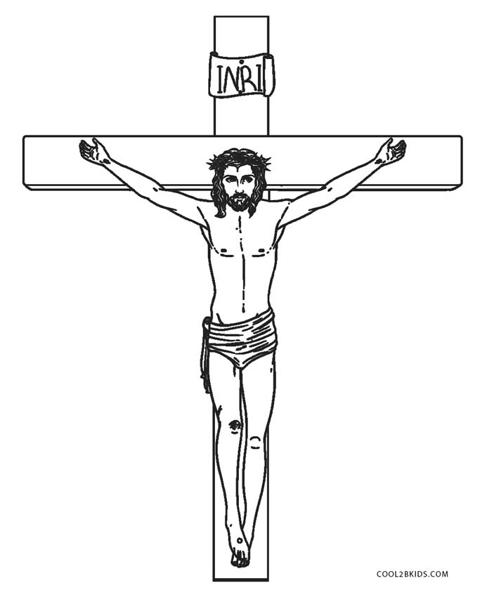 printable picture of jesus on the cross the huddle coloring pages printable cross on jesus of picture the