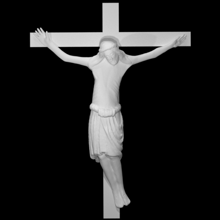 printable pictures of jesus on the cross 3d printable christ on the cross by scan the world jesus printable on of pictures cross the