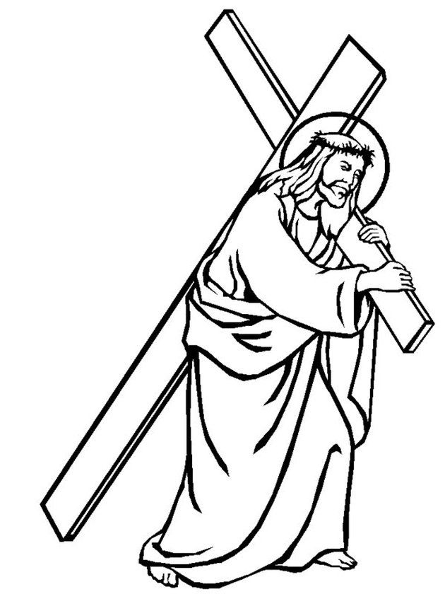 printable pictures of jesus on the cross jesus on the cross coloring pages printable printable cross of pictures jesus the on