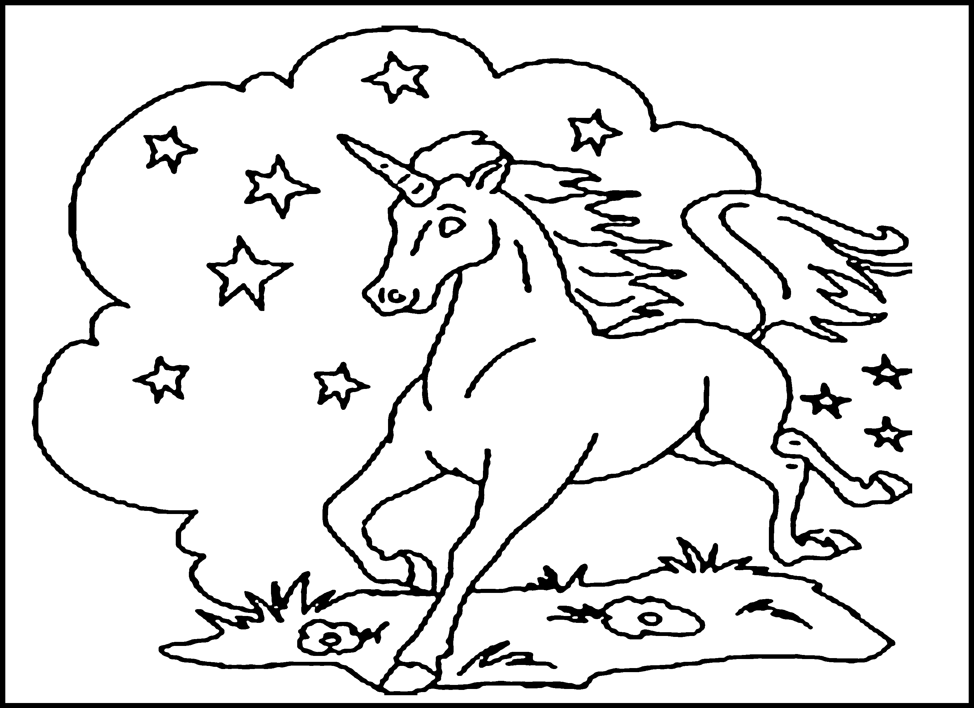 printable pictures to paint for kids unicorn coloring pages cool2bkids kids to paint printable pictures for