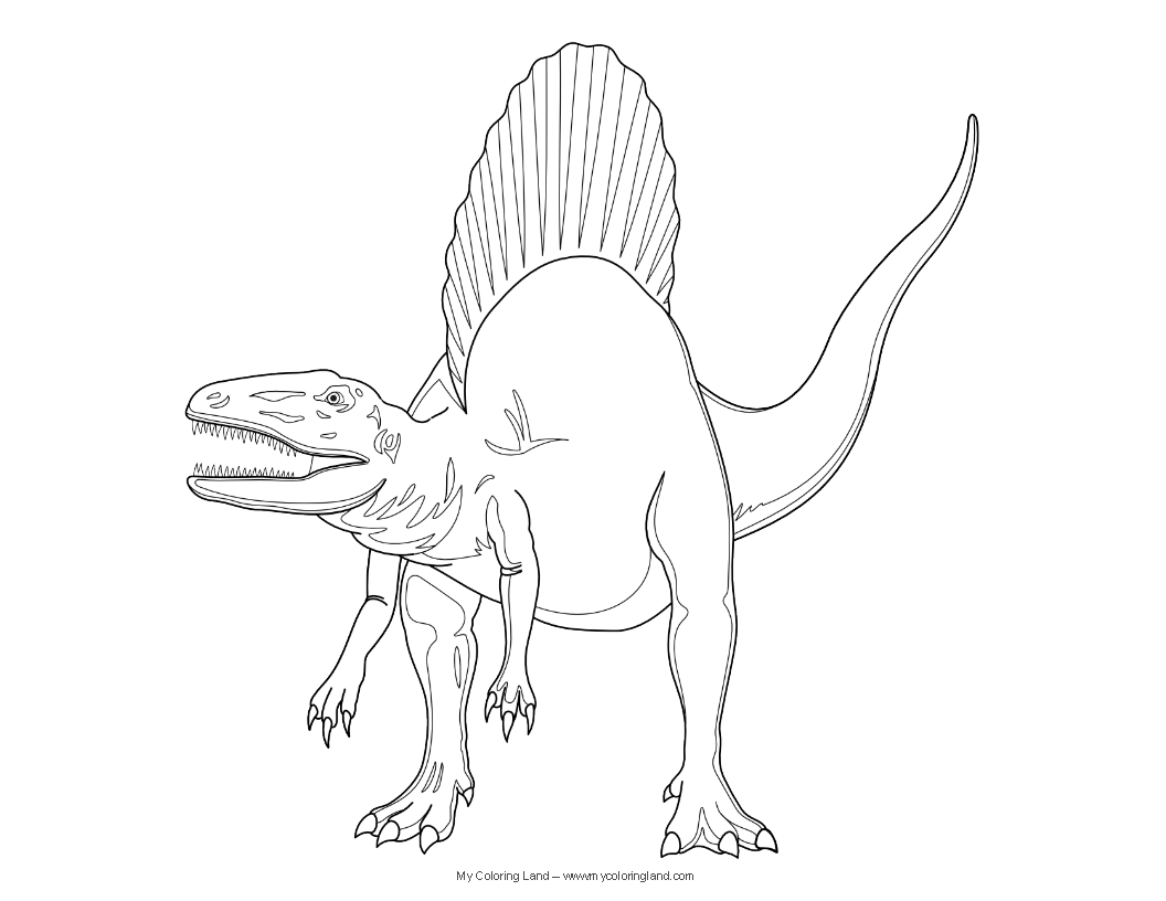 printable realistic dinosaur coloring pages dinosaur my coloring land realistic pages printable dinosaur coloring