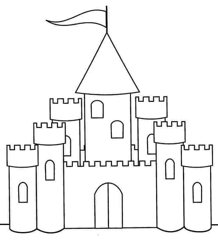 printable sand castle coloring page kid playing sand castle on the beach coloring page sand page printable castle coloring