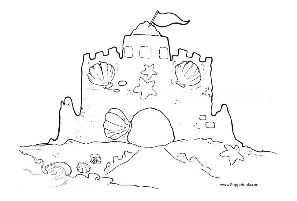 printable sand castle coloring page sand castle coloring pages free to print castle coloring castle printable coloring page sand