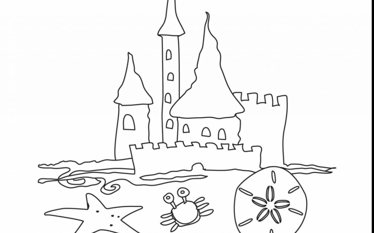 printable sand castle coloring page sand castle coloring pages to print at getcoloringscom sand coloring page printable castle