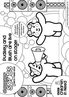 pudsey bear colouring pages pudsey bear colouring pages pages colouring bear pudsey