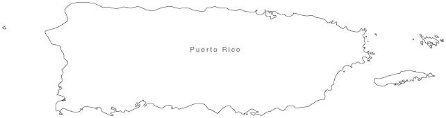 puerto rico outline puerto rico vector images over 510 rico puerto outline