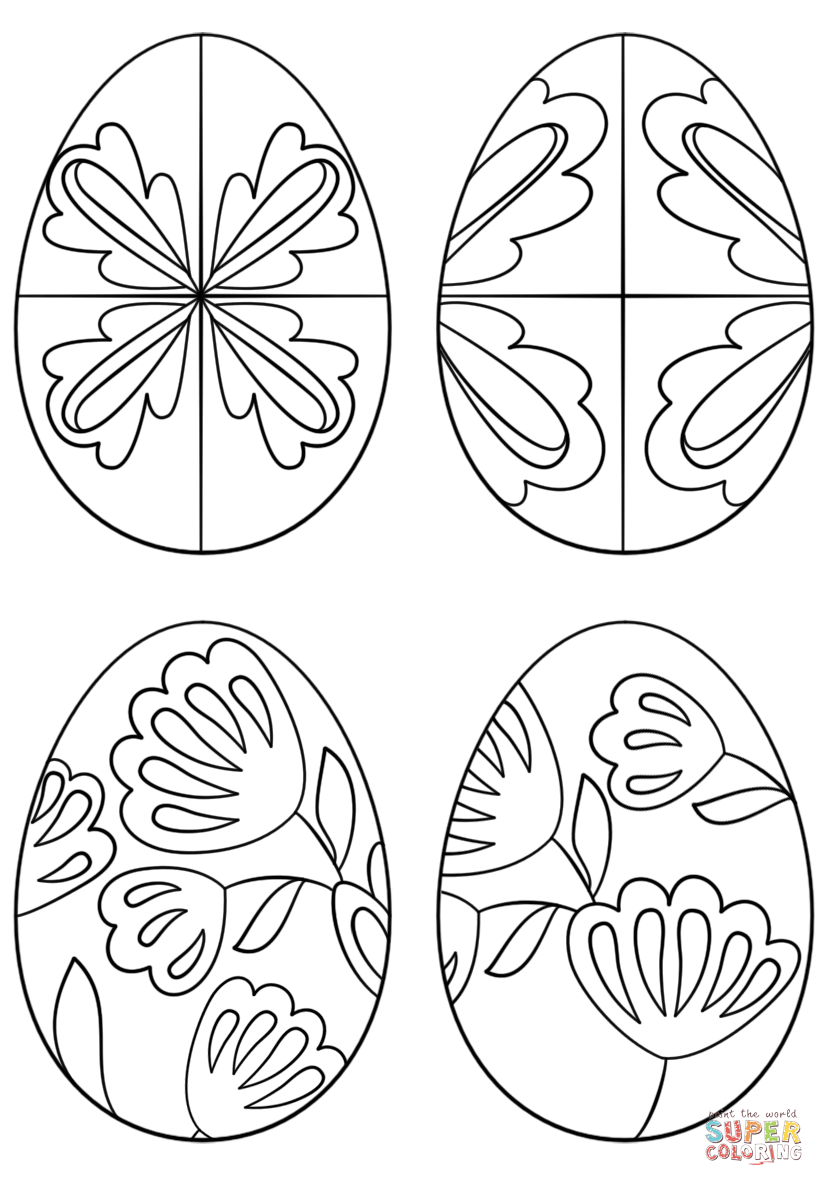 pysanky coloring pages httpwwwpapereggscompysankyhtm doodlesadult coloring pages pysanky