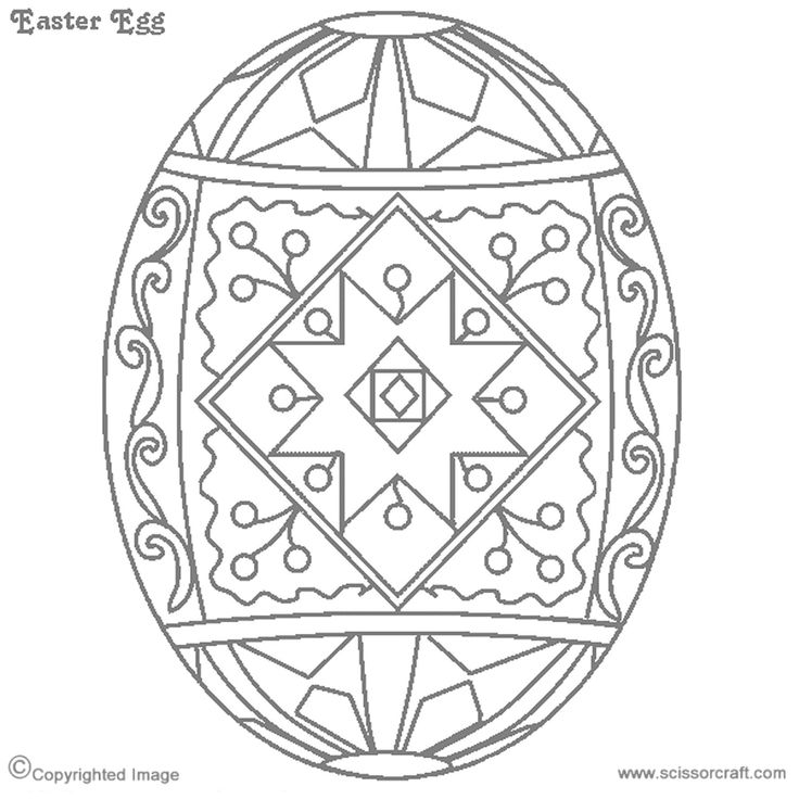 pysanky egg coloring pages free ukrainian easter egg coloring page pysanky pages coloring egg