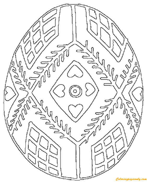 pysanky egg coloring pages pysanky coloring pages and other craft ideas ukrainian pages coloring egg pysanky